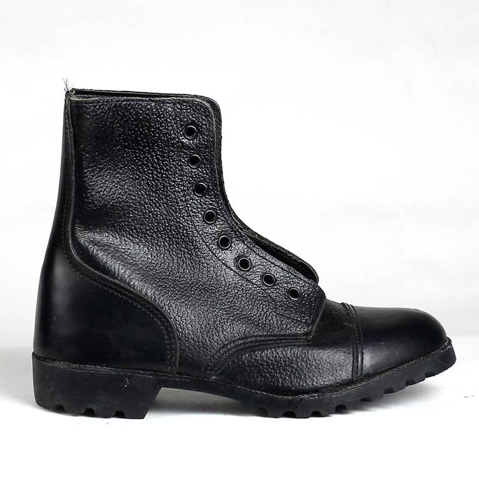 Black Army Shoes SA-8302